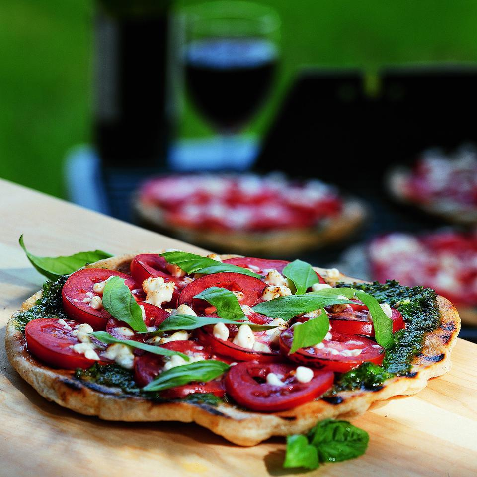 Healthy Grilled Pizza Recipes