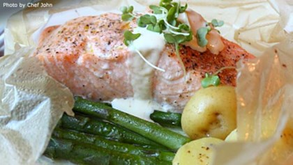 French recipes allrecipes tips tricks chef johns salmon in parchment forumfinder Choice Image