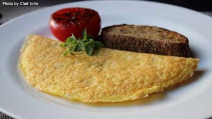 Tips Tricks Parmalet Crisp Parmesan Omelet