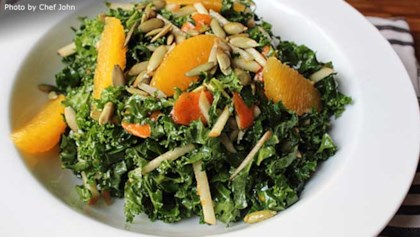 Raw food diet recipes allrecipes tips tricks chef johns raw kale salad forumfinder Images