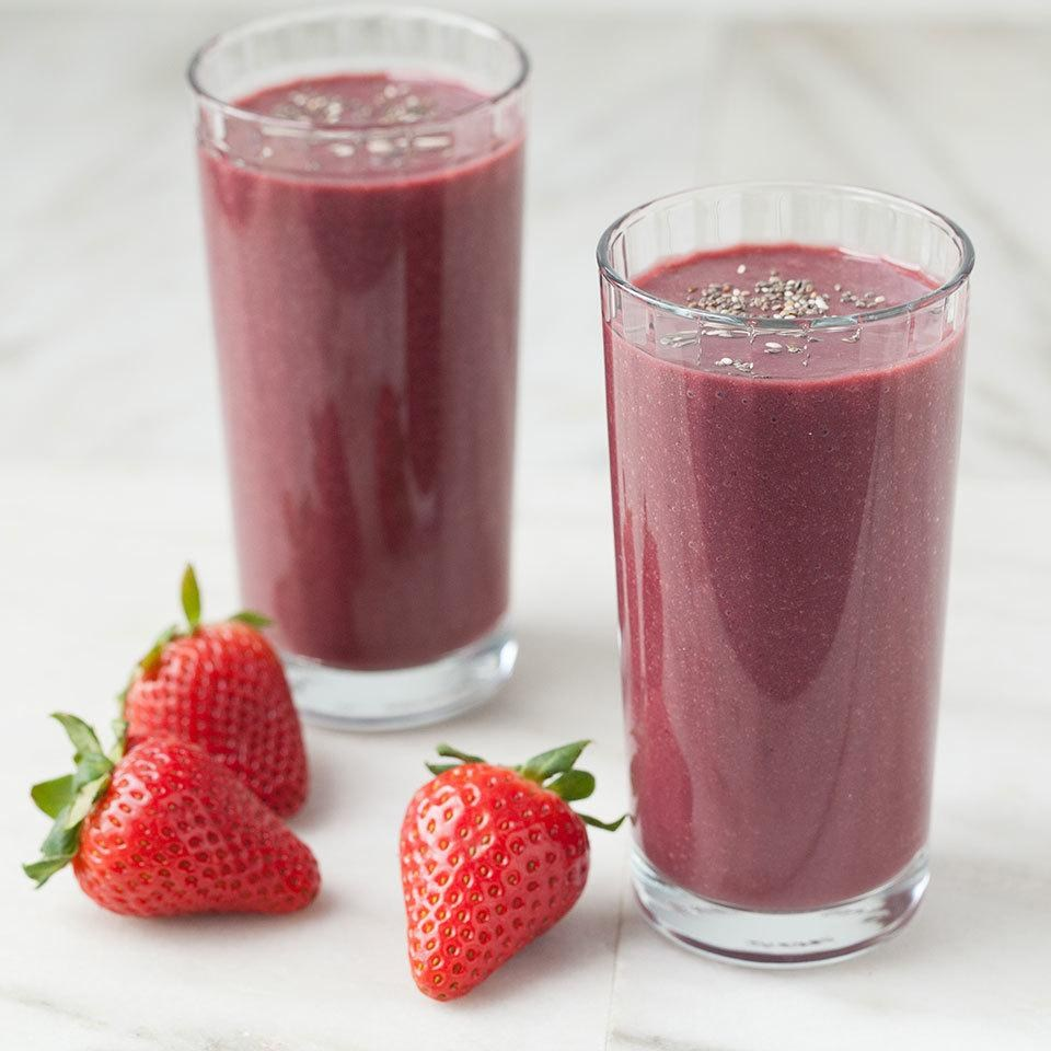 Healthy Strawberry Smoothie Recipes