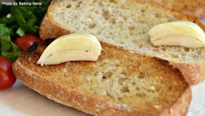 tips tricks just garlic toast
