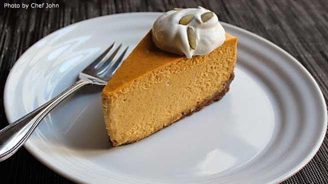 Chef John's Pumpkin Cheesecake