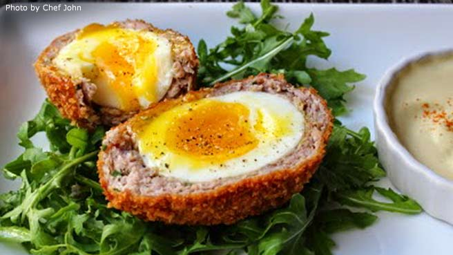 Allrecipes food friends and recipe inspiration chef johns scotch eggs forumfinder Gallery