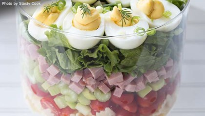 Swell Easter Salad Recipes Allrecipes Com Interior Design Ideas Lukepblogthenellocom
