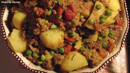 Ground beef recipes allrecipes tips tricks keema aloo ground beef and potatoes forumfinder