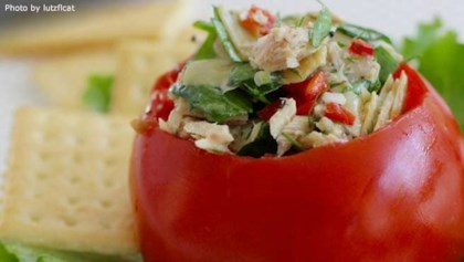 Healthy lunch recipes allrecipes inspiration and ideas tips tricks tuna artichoke salad forumfinder Images