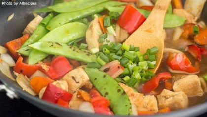 Stir fry recipes allrecipes tips tricks easy stir fry your weeknight savior forumfinder Images