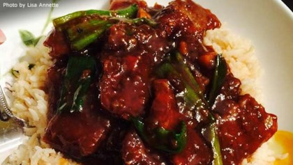 Chinese beef main dish recipes allrecipes tips tricks mongolian beef and spring onions forumfinder Images