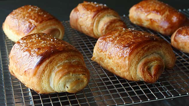 Chef John's Chocolate Croissants