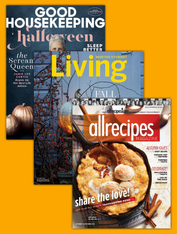 Get more recipes with 3 magazines for $20!