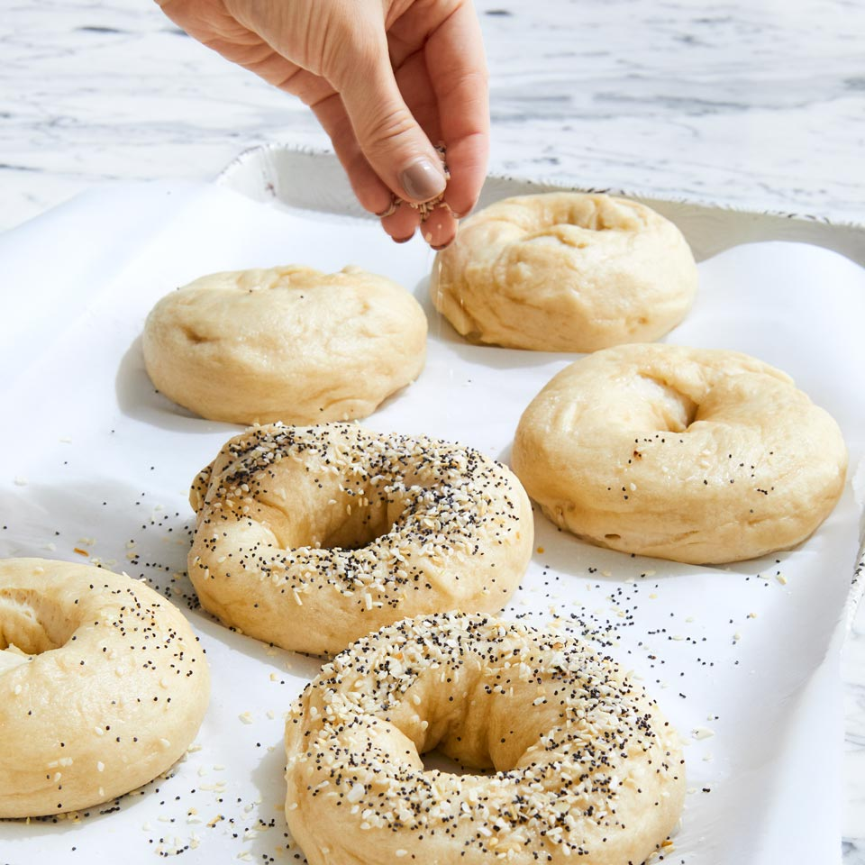 sprinkle bagels