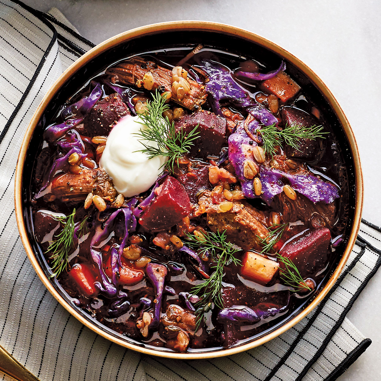 Healthy Slow-Cooker & Crock Pot Vegetable Soups