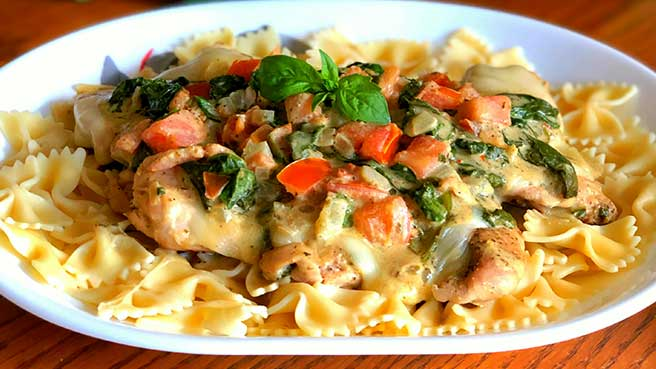 Italian Baked Chicken Thighs
