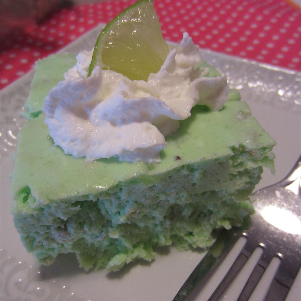Lime Gelatin Salad I image