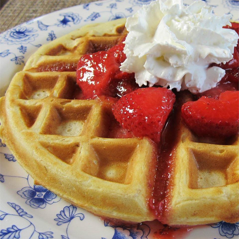 Buttermilk Oatmeal Waffles_image