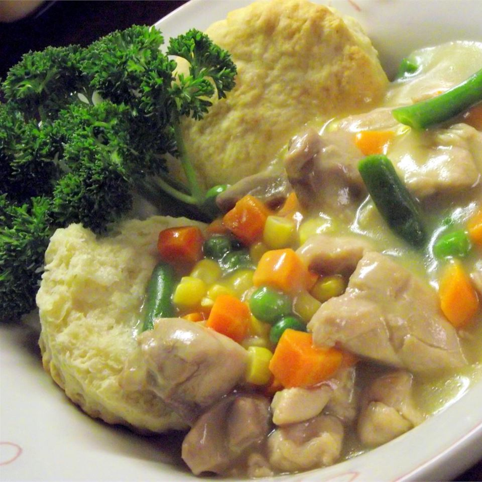 Slow Cooker Chicken Pot Pie Stew
