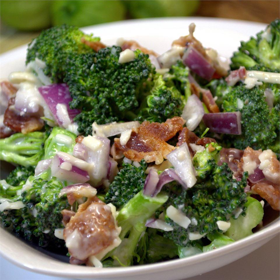 Creamy Broccoli Salad Mark Simma