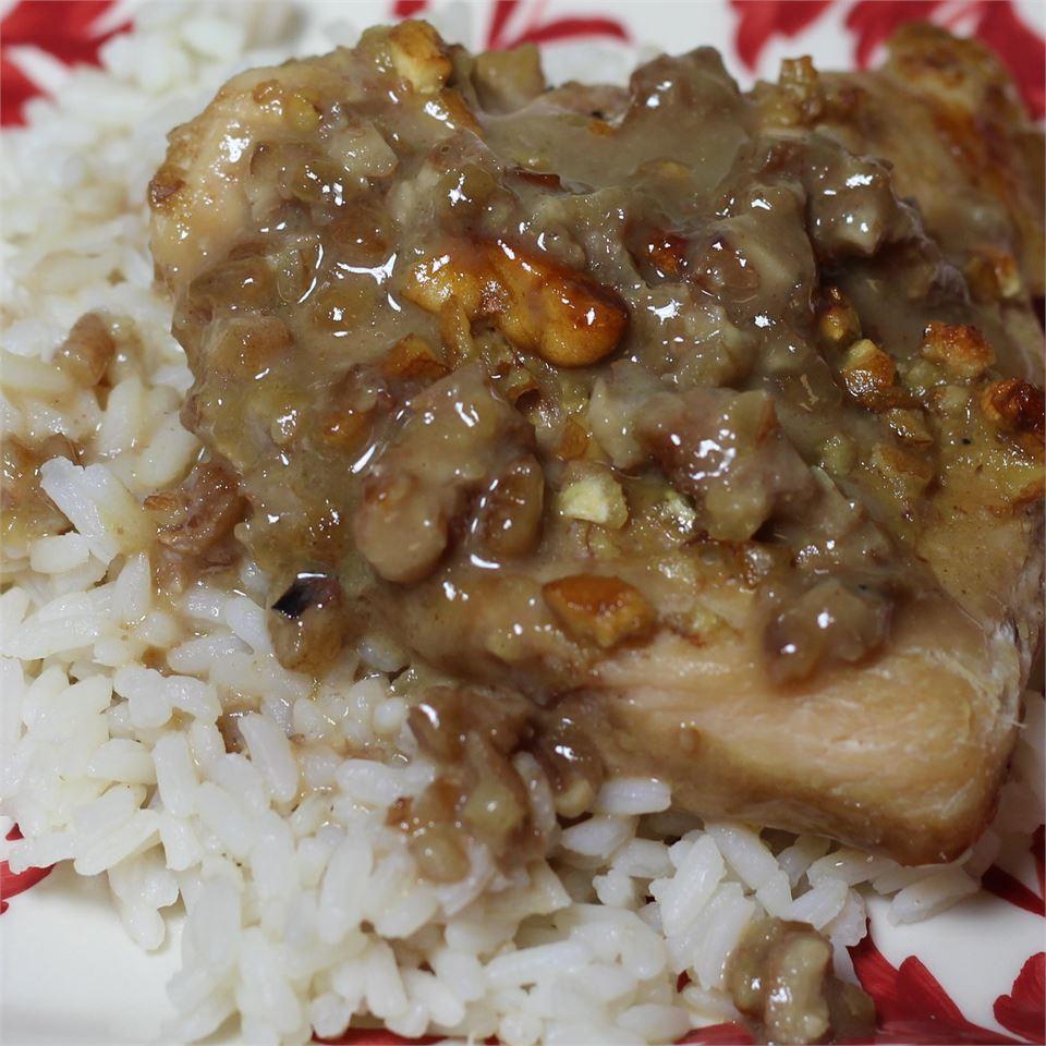 Pecan Dijon Chicken Paula