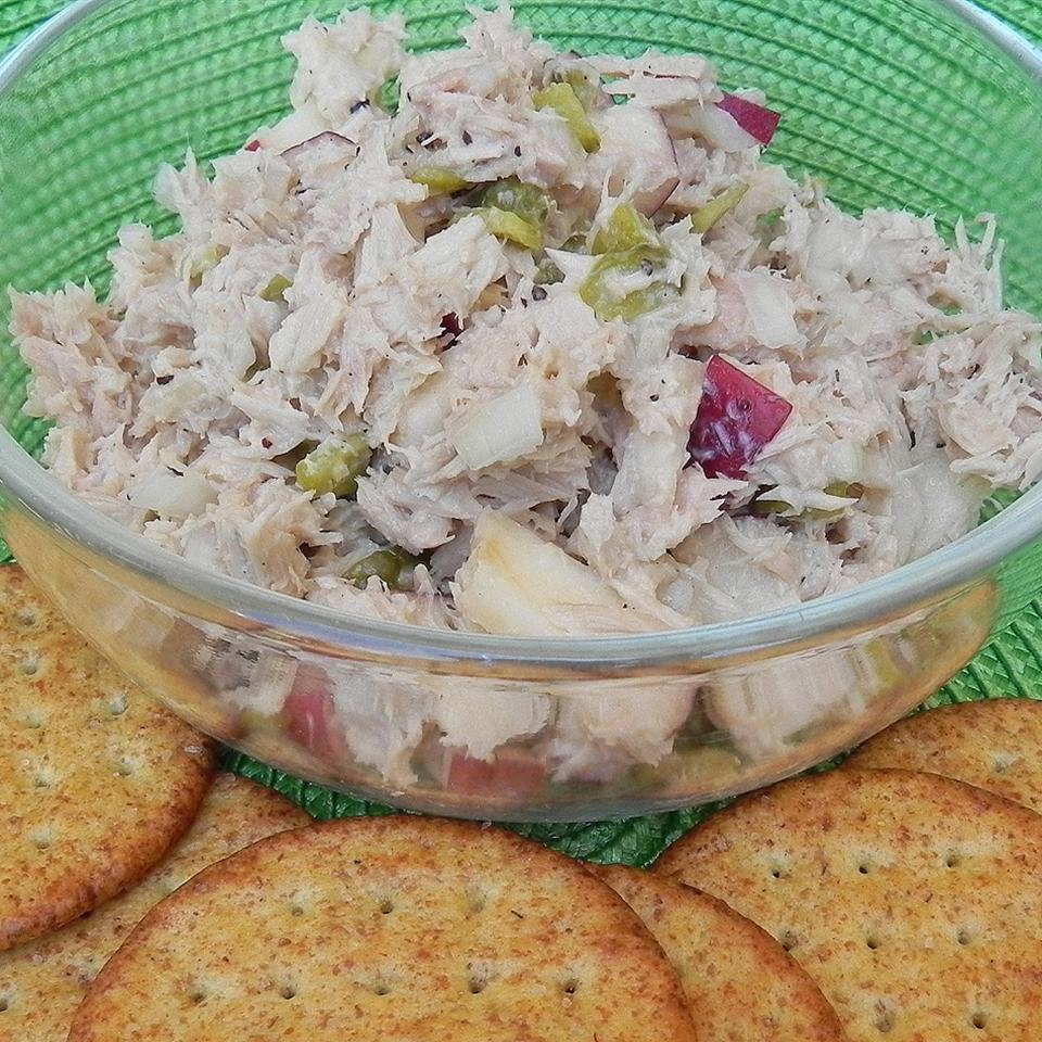 Southern Apple Tuna Salad_image
