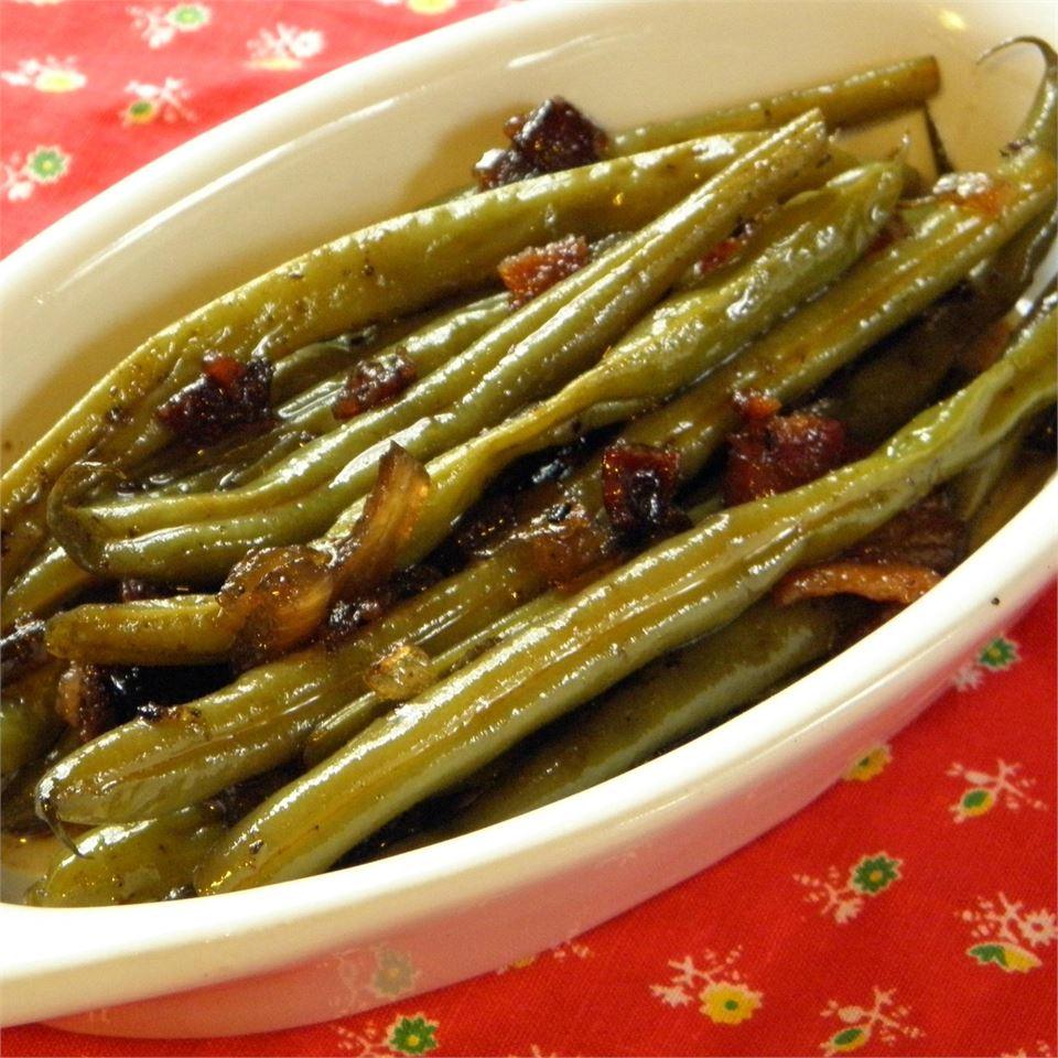 Sweet and Tangy Green Beans_image