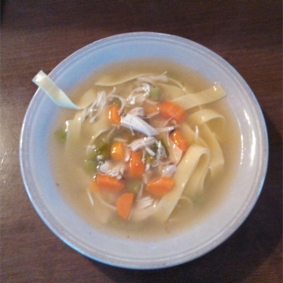 Rosemary Chicken Noodle Soup waterbugkek