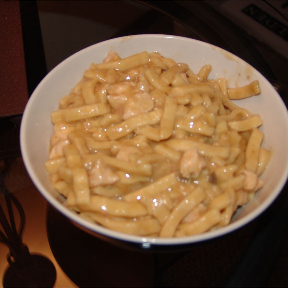 Incredibly Easy Chicken and Noodles Amber Fulkerson Johnson