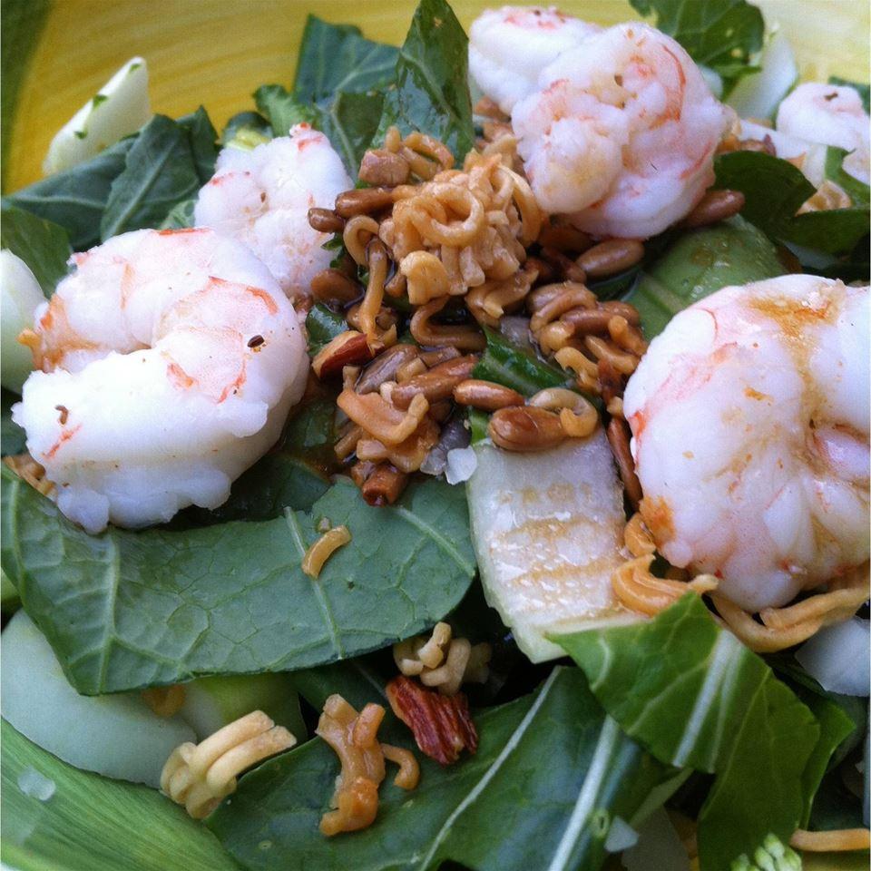 Crunchy Ramen-Bok Choy Salad LifeLearner