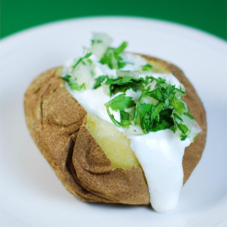 Slow Cooker Baked Potatoes image