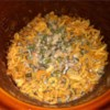 Slow Cooker Green Bean Casserole Recipe and Video - Throw all the traditional ingredients for green bean casserole in the slow cooker on Thanksgiving morning, and it will be ready by the time dinner is on the table.