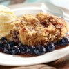 Blueberry Streusel Cobbler Recipe - Nobody will be able to resist freshly-baked cobbler slathered in a homemade blueberry sauce!