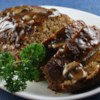 """Tennessee Meatloaf Recipe - My Grandmother """"Nanaw"""" Rowan made the most delicious meatloaf in the state. She didn't leave me her recipe, but she left me the desire to recreate it. I think this is it, in flavor and texture...a masterpiece!"""