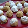 Whitney's Peanut Butter Cookie Balls Recipe - A great after-school snack and kid's treat! Great for birthday parties.  Roll or dip balls into coconut, cocoa, sprinkles, confectioners' sugar, and/or graham cracker crumbs.