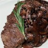 Merlot-Peppercorn Steak Sauce Recipe - This is a quick merlot and peppercorn sauce which cooks very quickly.  It's very tasty poured over a top sirloin or a thick porterhouse steak!