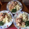 Filet Mignon with Garlic Shrimp Cream Sauce Recipe - Tender beef tenderloin filets are cooked to perfection, then topped with a delectable creamy shrimp sauce for a special meal to share.