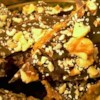 Chocolate Toffee Crunch Bars Recipe - The name says it all. Large yield...it's mom's recipe.