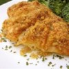 Easy Deviled Chicken Recipe - A creamy mustard sauce gives herb-baked chicken a real boost.