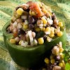 Cowboy Caviar Recipe - Black beans absorb other flavors superbly, so try to leave this for at least 20 minutes before serving to allow the different flavors to blend together.