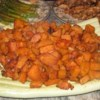 Sweet and Spicy Sweet Potatoes Recipe - The spicy mixture covering these sweet potatoes is also good on chicken pieces!