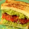 Midnight Snack Avocado Sandwich Recipe - Fry up some bacon and pair it with avocado and sprouts to make this delicious, quick-and-easy sandwich that's perfect as a midnight-snack.