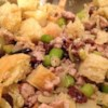 Elegant Turkey Stuffing Recipe - Distinctive and easy to prepare! This turkey stuffing is made with orange-flavored liqueur, spicy Italian sausage, apples, and pecans.