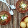 My Chili Recipe and Video - If you want a good, basic chili recipe, this is it.  No odd vegetables, or secret ingredients, just ground beef, tomatoes, red kidney beans, and the usual spices.  Simple and delicious.