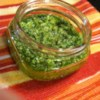 Cilantro Jalapeno Pesto with Lime Recipe - This is a spicy alternative to classic basil pesto. Add to pasta, fish, or chicken dishes as you would any other pesto sauce.