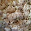 The Best Chicken Salad Ever Recipe - Two things make this chicken salad super. The first is the combination of a creamy salad dressing and a coleslaw dressing. The second is that everything goes into the food processor, so the consistency is spread able and all the flavors mingle well.