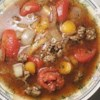 Hamburger Soup III Recipe - A wonderful soup that warms you up on cold day.