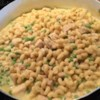 Creamy Chicken Pasta Recipe - Take the chill off a winter day with this warm and comforting one dish meal. Morsels of poached chicken are blended with cream of mushroom soup and mozzarella cheese, then tossed with hot noodles and cooked peas or broccoli.