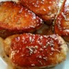Pork Chops with Apple Cider Glaze Recipe and Video - Pork chops with a glossy apple cider glaze is really easy, and while there's no starch or extra butter involved, it reduces quickly to a thick, rich, sweet-tart apple syrup.