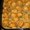 Tater Tot Casserole Recipe - This kid-friendly ground beef skillet casserole goes from stovetop to oven, and straight to the table in 35 minutes.