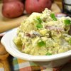Southern Dill Potato Salad Recipe - Dijon mustard, cider vinegar, and celery salt add flavor to a tangy dill dressing that coats chunks of red potatoes and hard-boiled eggs.