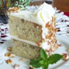 Incredibly Delicious Italian Cream Cake Recipe and Video - This tender coconut cake is made with buttermilk, topped with a cream cheese coconut frosting and chopped nuts.